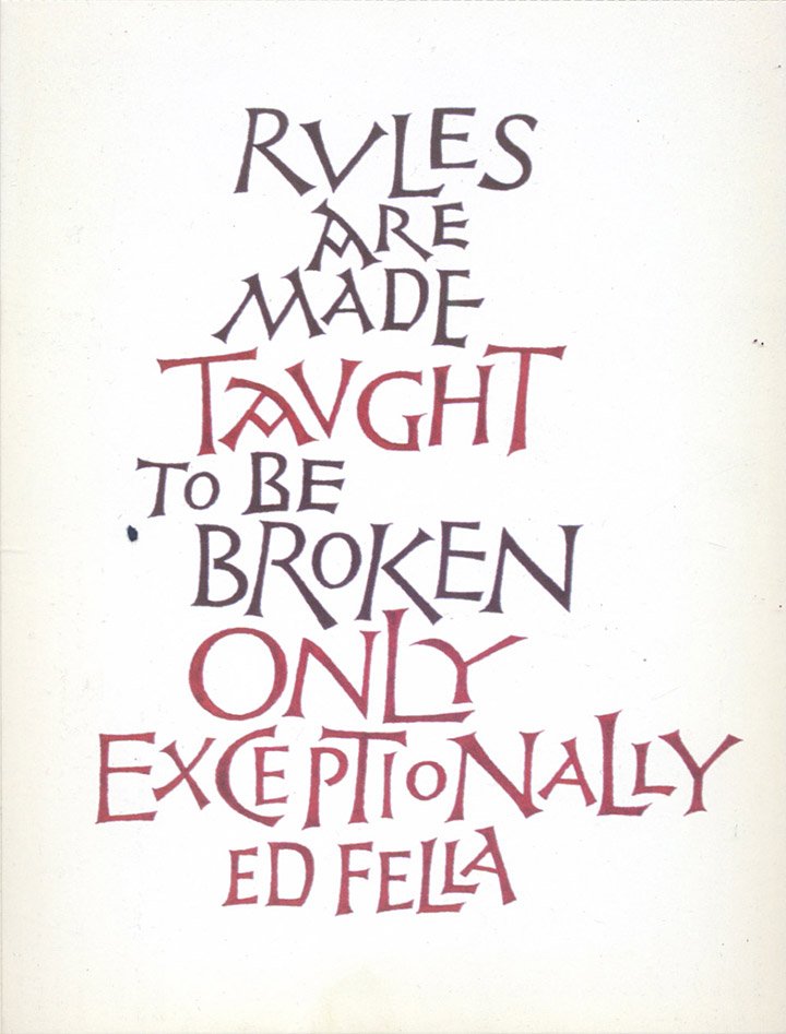 Favorite Quotation Fascinating Paul Shaw Letter Design » Quotationed Fella
