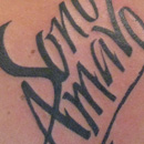 Sono Amavo tattoo thumbnail