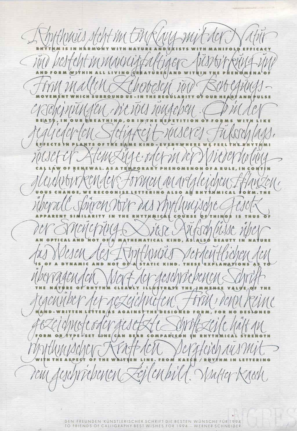 Ruling Pen Font The Samples of Ruling Pen