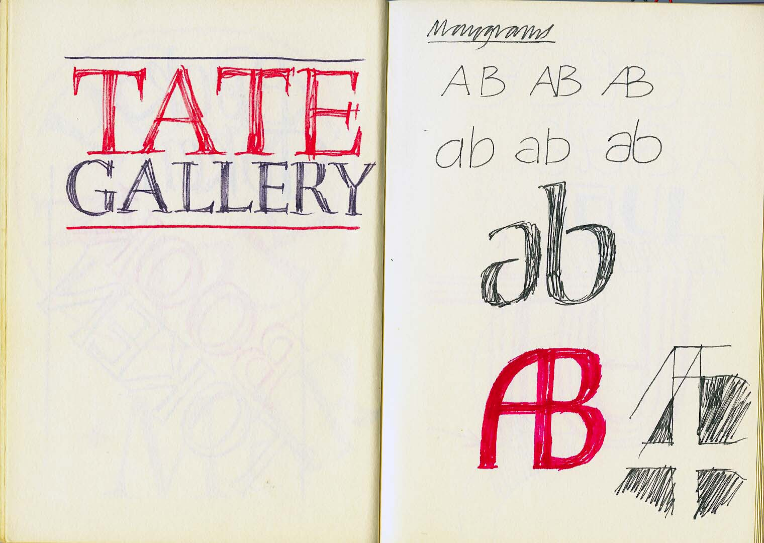 Chicago Calligraphy 1983#9