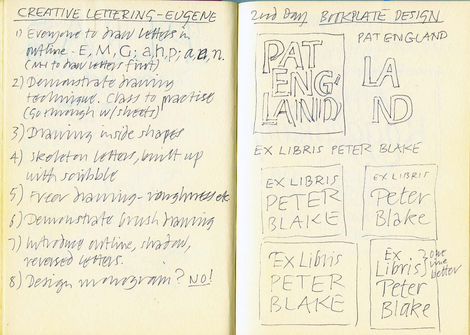 Eugene – Creative Lettering Workshop#15
