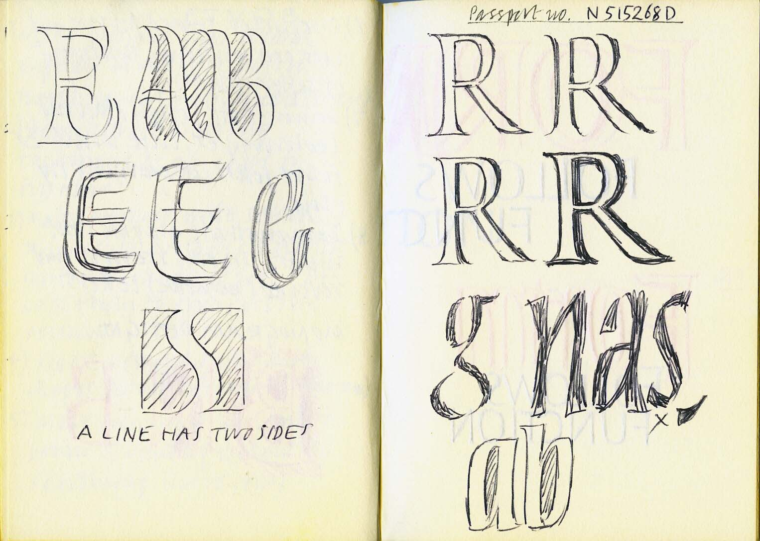 Olympia 1984 – Creative Lettering Workshop#3