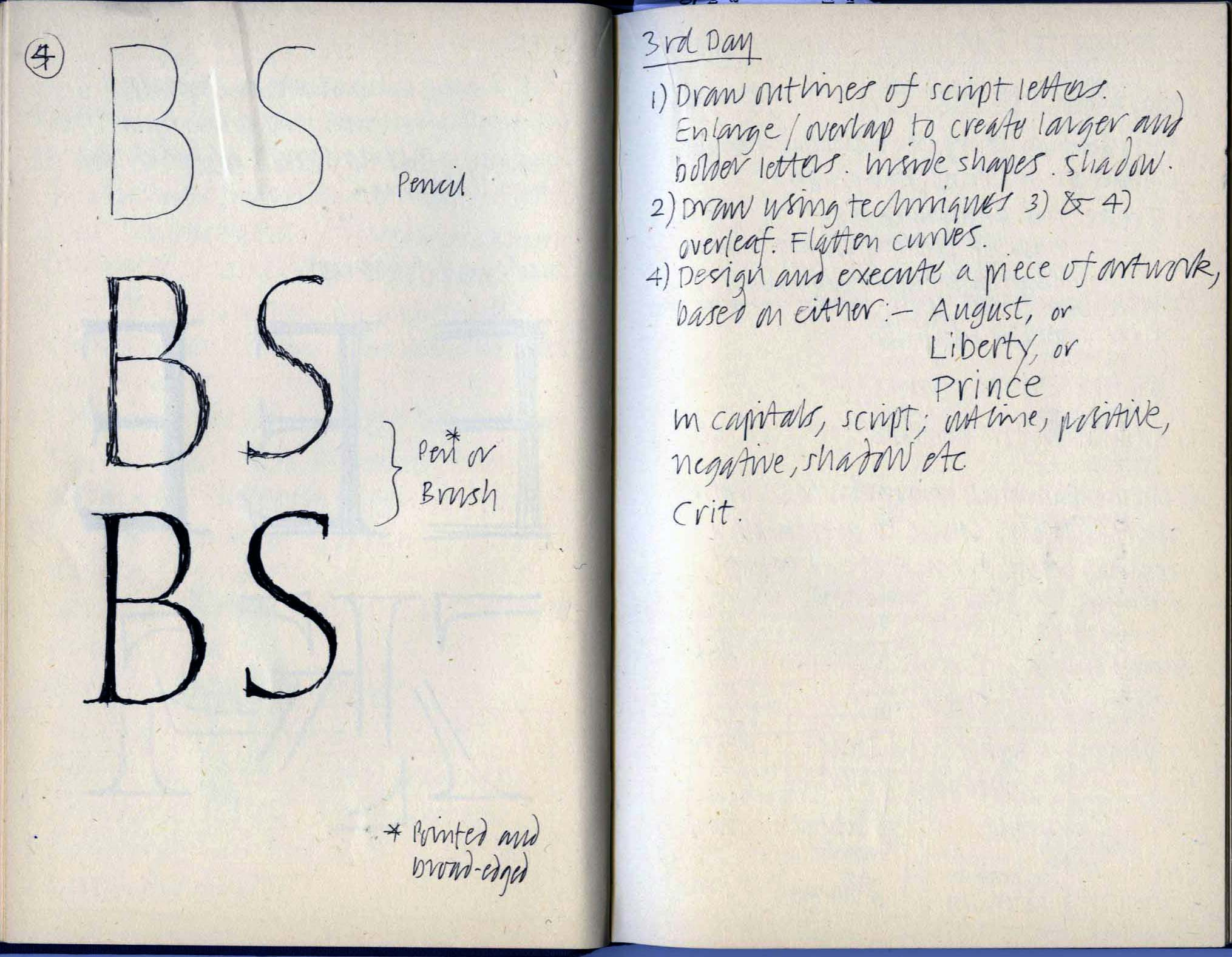 Paul Shaw Letter Design Michael Harvey S Teaching