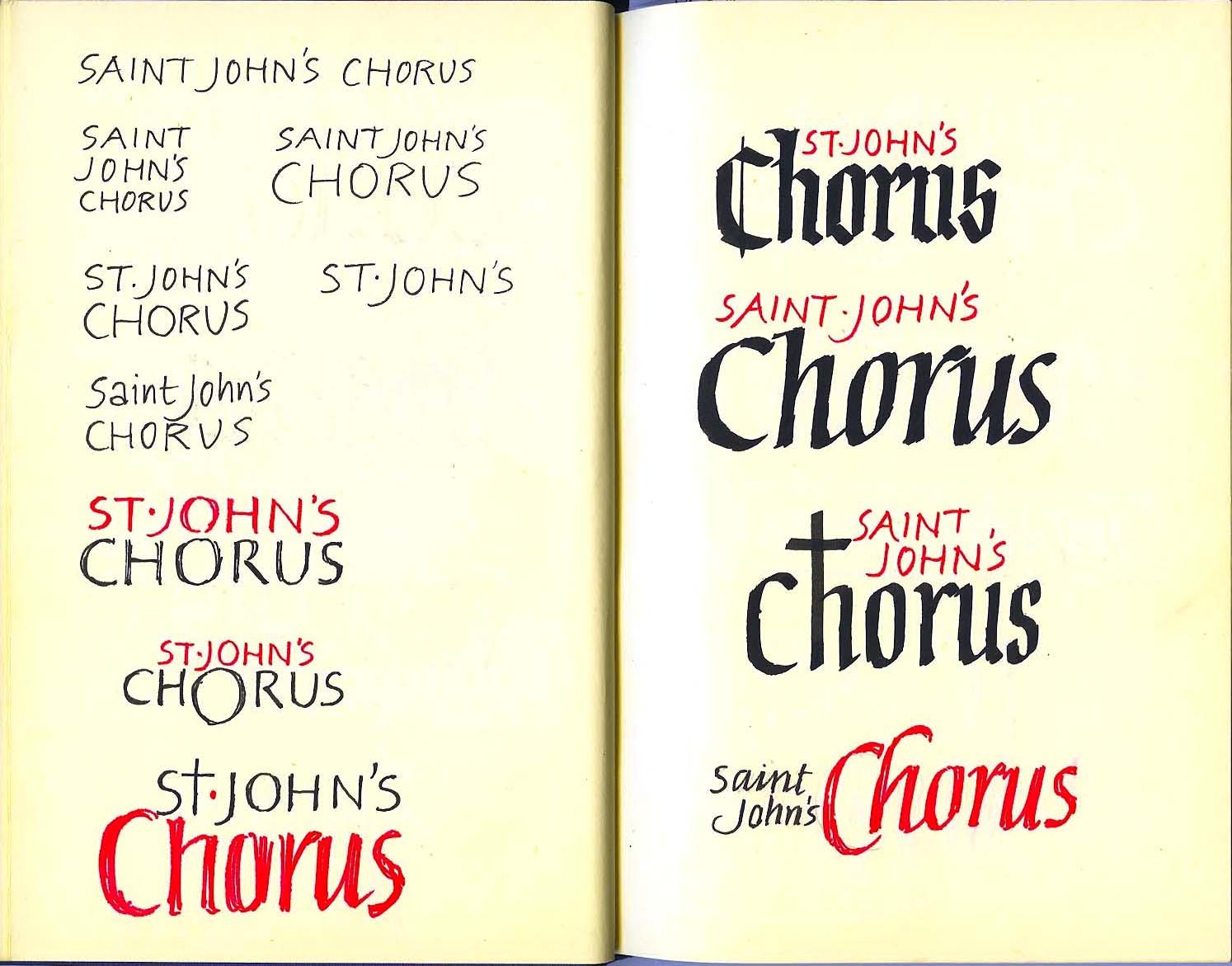 St John's Chorus#1