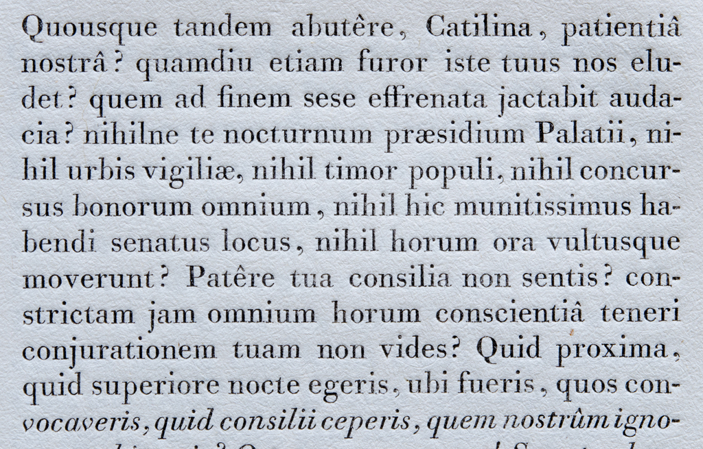 Detail of Filosofia 10 (Bassano) from Manuale Tipografico (1818).