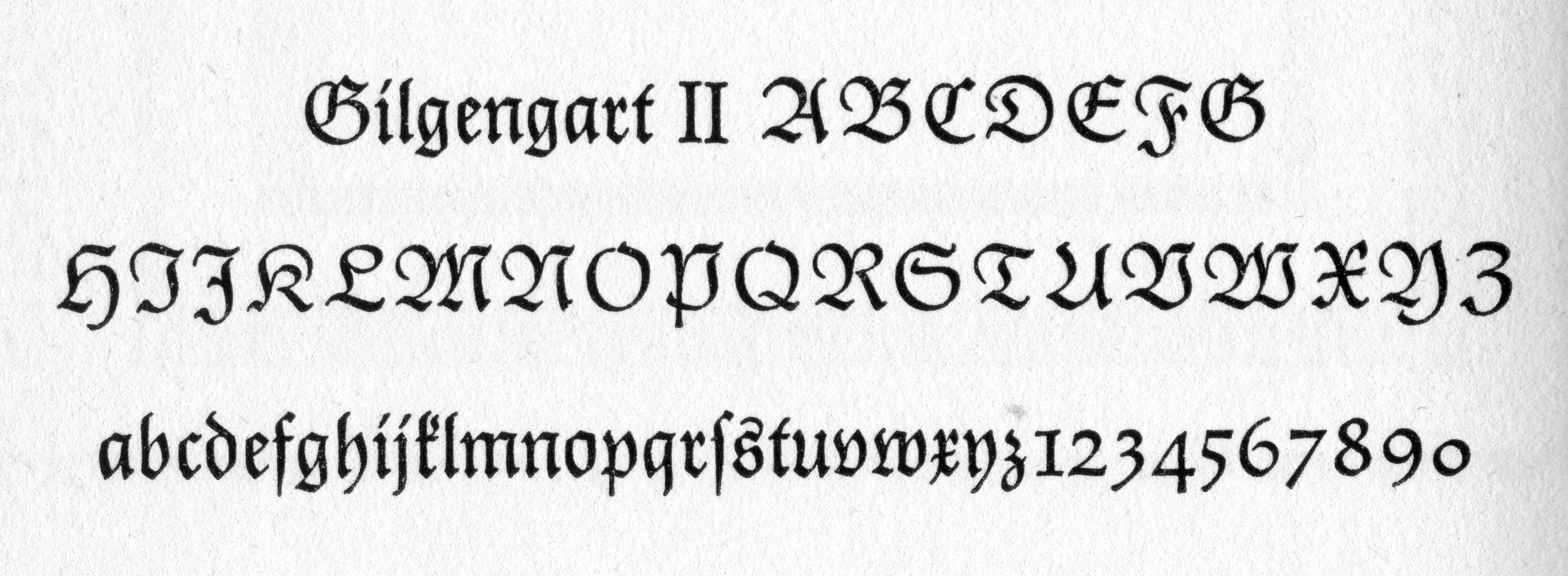 Gilgengart II. Detail from About Alphabets, p. 86.