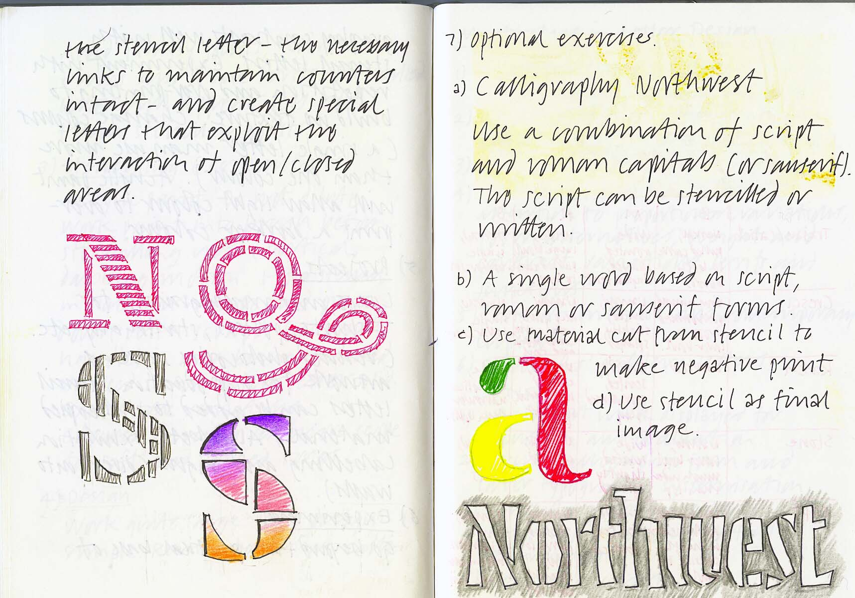 Portland 1991 – Calligraphy Northwest #3