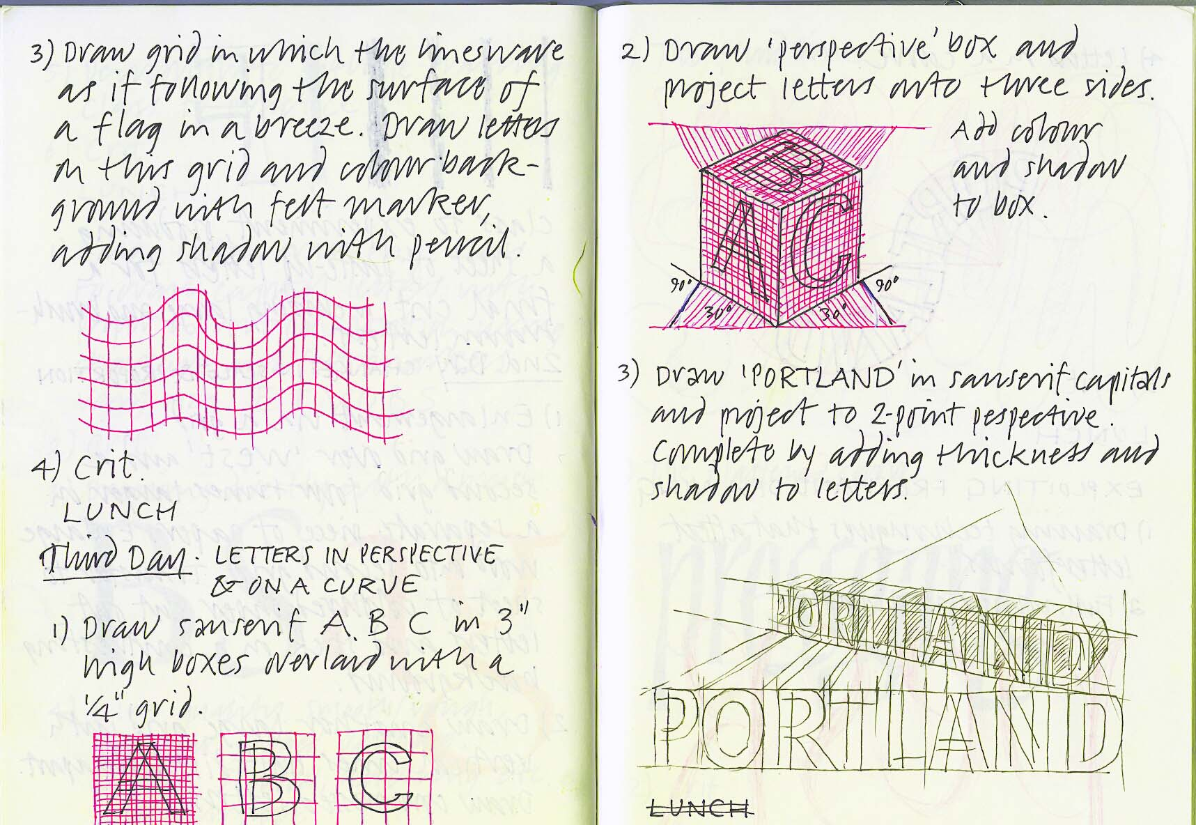 Portland 1991 – Calligraphy Northwest #7