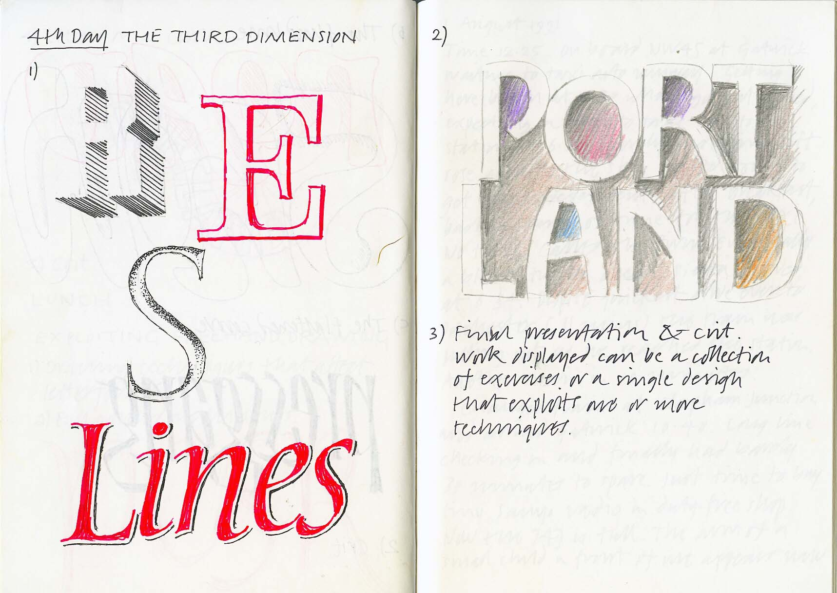 Portland 1991 – Calligraphy Northwest #9