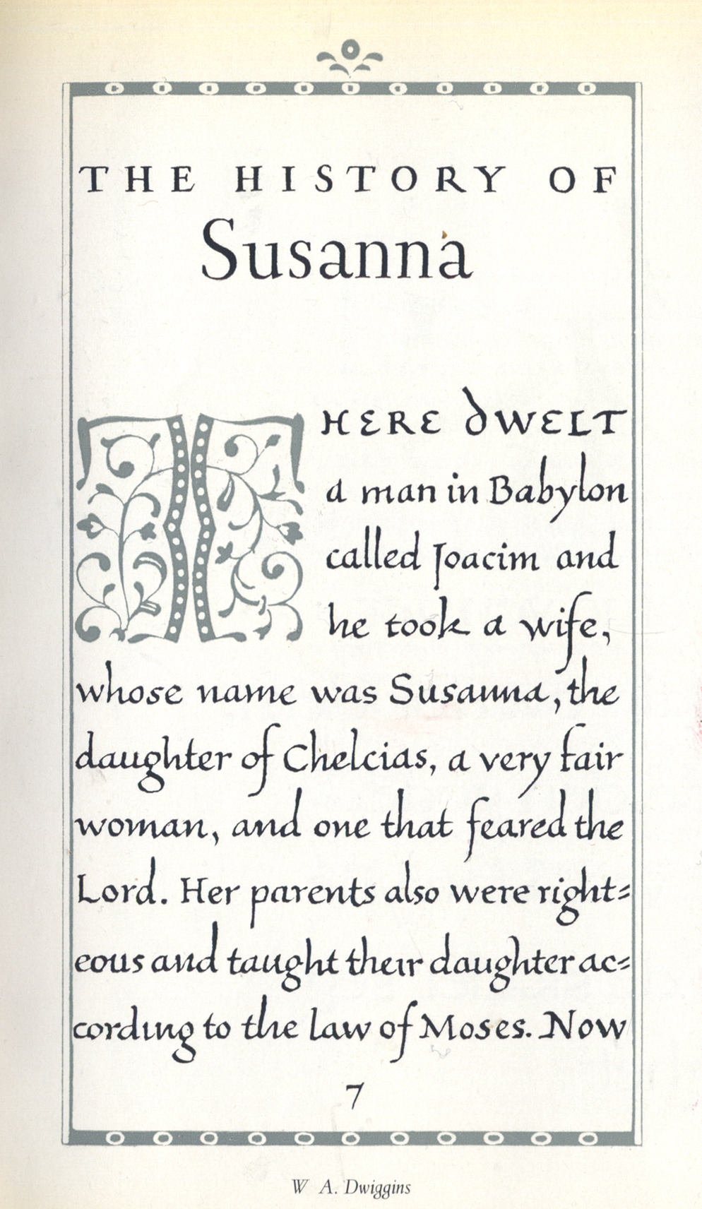Page from The History of Susanna