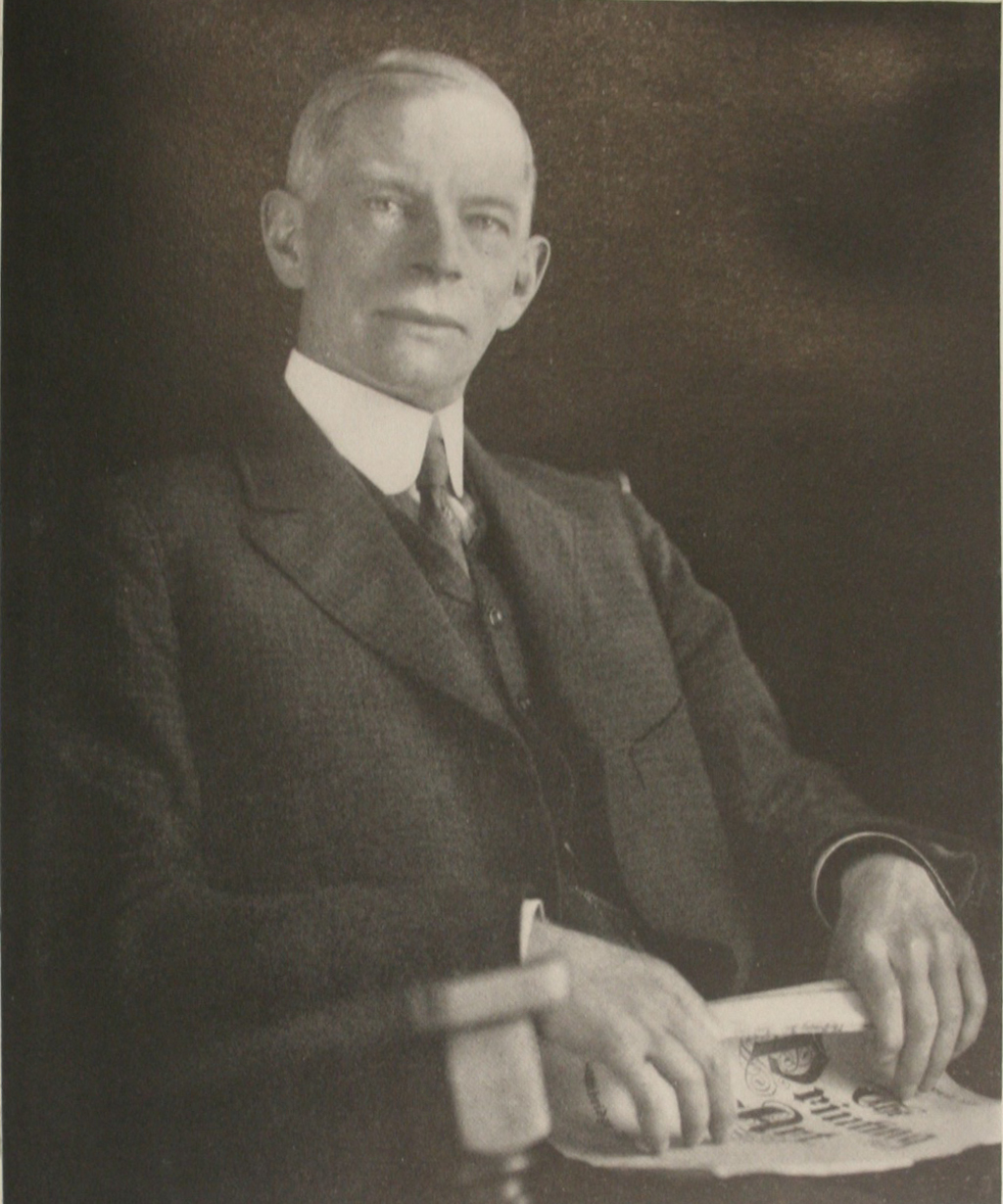C.F. Whitmarsh. Photograph by Charles E. Davis. Date unknown, but probably between 1910 and 1914.
