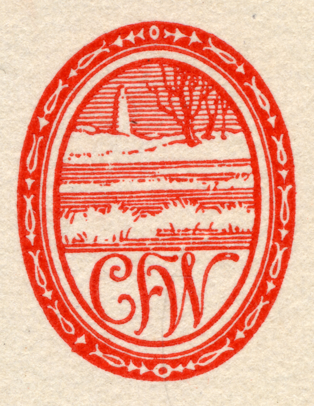 Personal mark. From 22 Printers' Marks and Seals