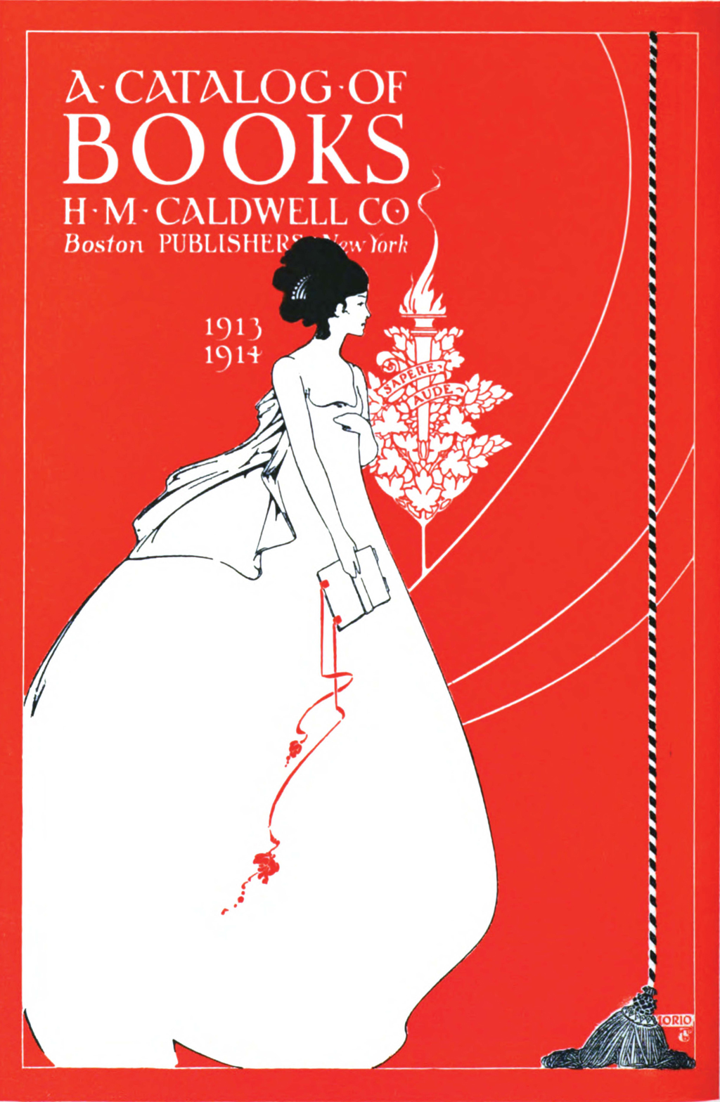 Cover of catalogue for H.H. Cladwell Co.