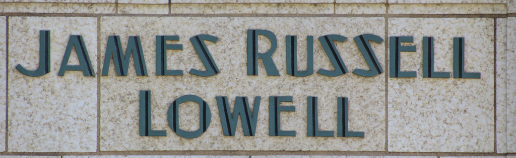 James Russell Lowell apartment building (detail)