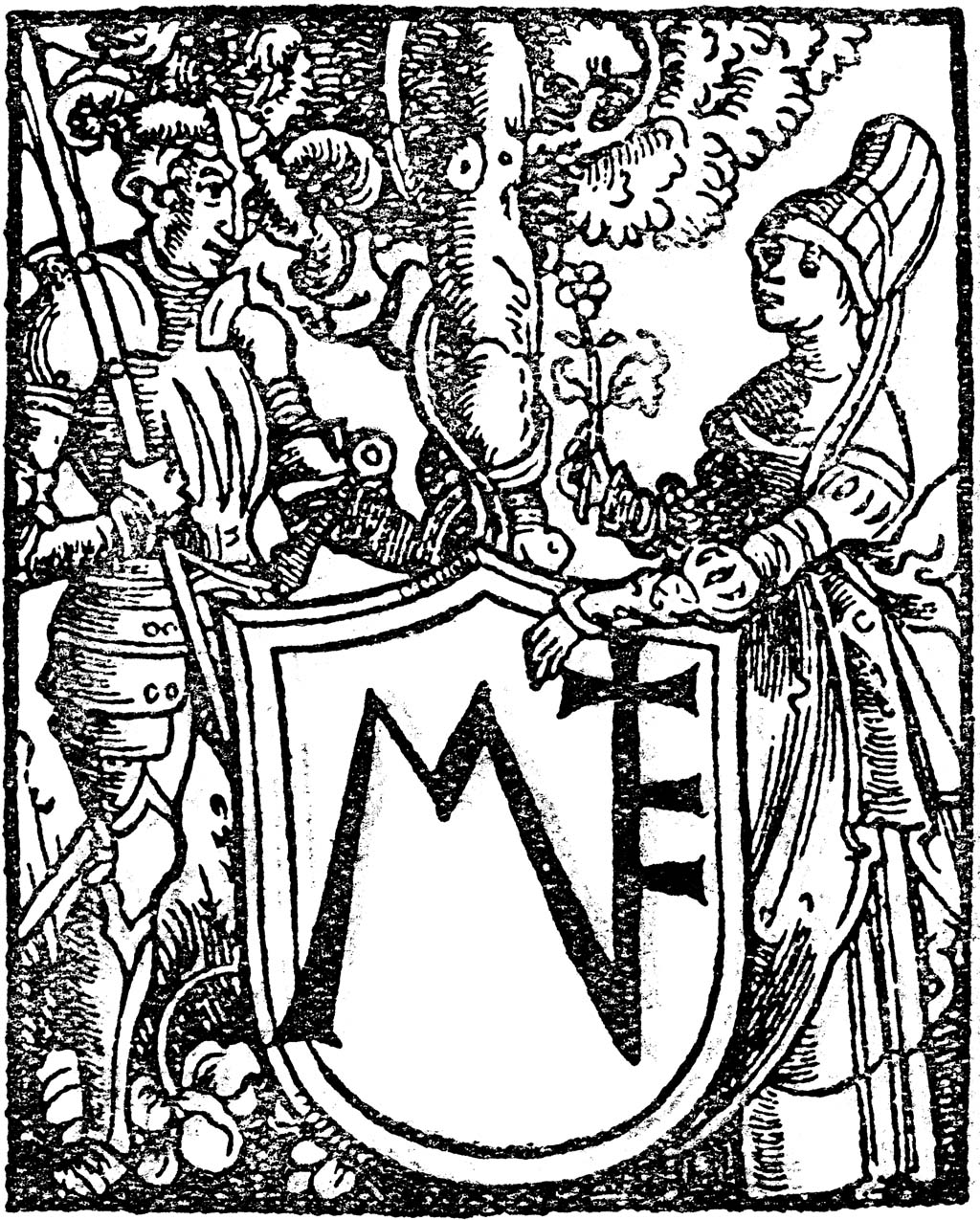 """Hortulus Animae"" by Hans Baldung Grün (1511)."