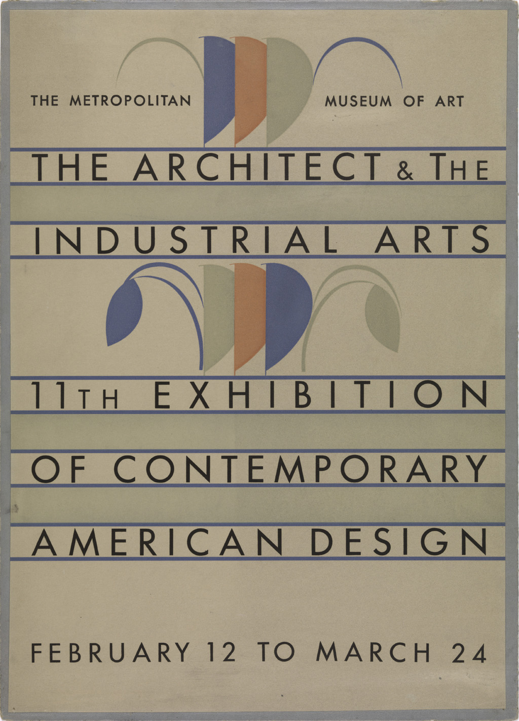 Poster for exhibition Art Resources.