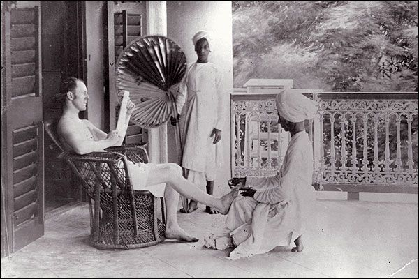 Life of a British Army officer during the early days of British rule in India. From Pinterest.