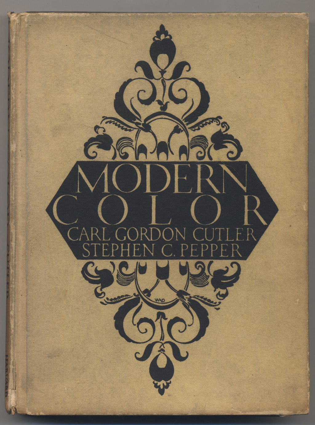 Binding of Modern Color by Carl Gordon Cutler and Stephen Pepper (Cambridge: Harvard University Press, 1923). Design by W.A. Dwiggins.