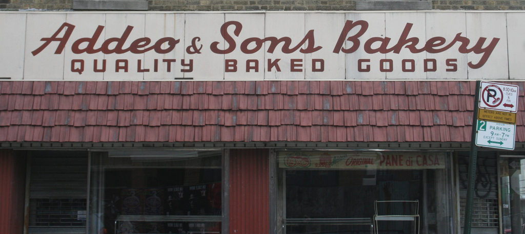 Addeo & Sons Bakery, Belmont neighborhood, Bronx, New York.