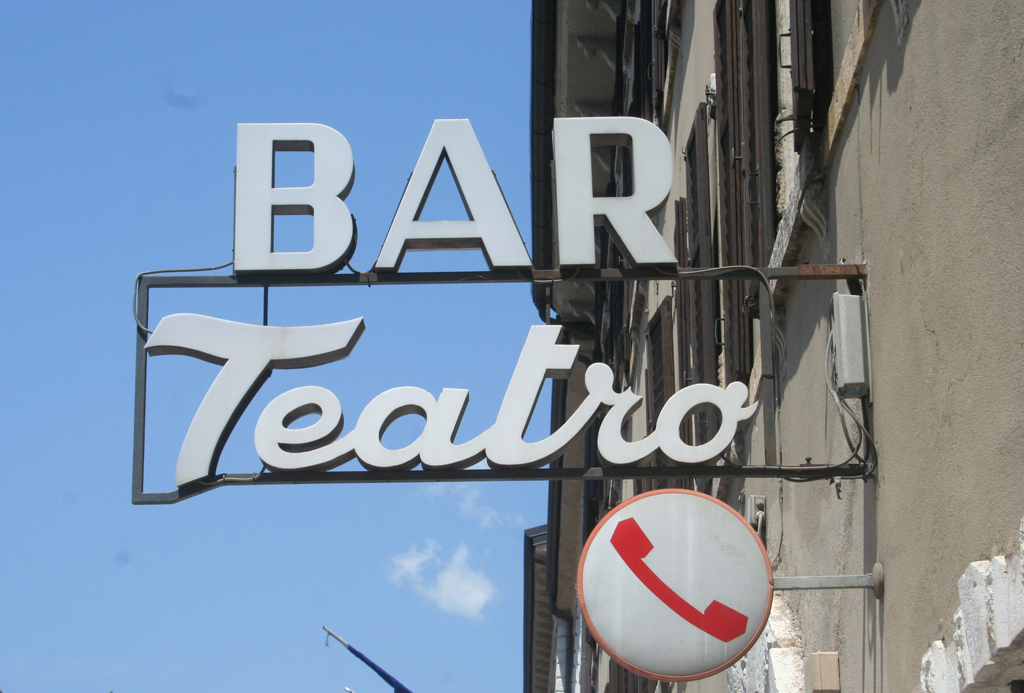 Bar Teatro, Rovereto, Italy.