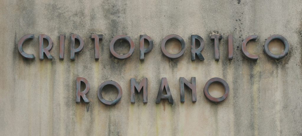 Criptoportico Romano, Verona, Italy.