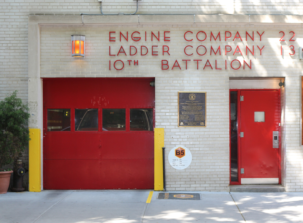Engine Company 22 and Ladder Company 13, FDNY. Upper East Side.