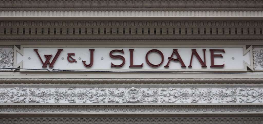 W. & J. Sloane furniture store (1915), San Francisco.