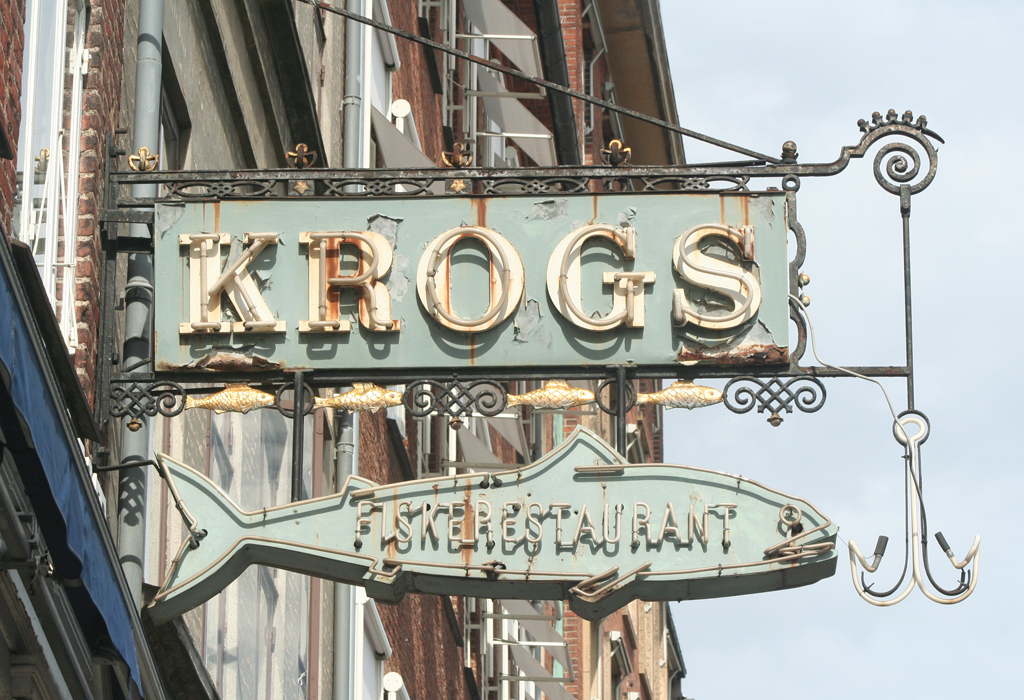 Krogs Fiskerestaurant, Copenhagen.