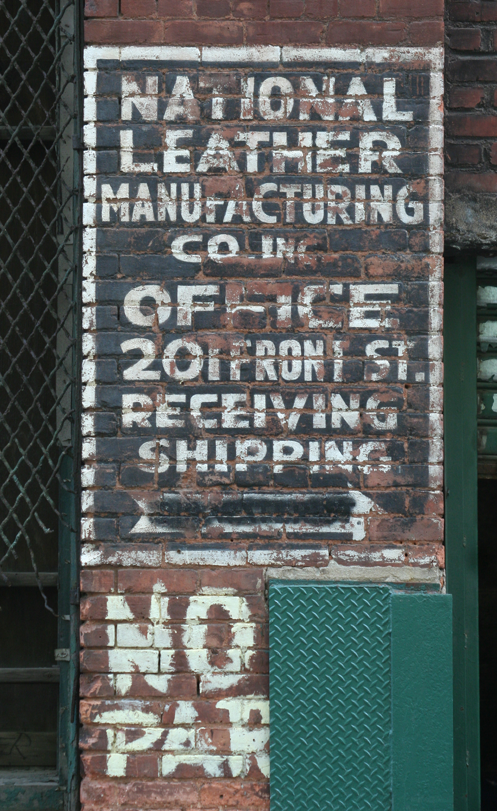 National Leather Manufacturing Co., Dumbo neighborhood, Brooklyn.