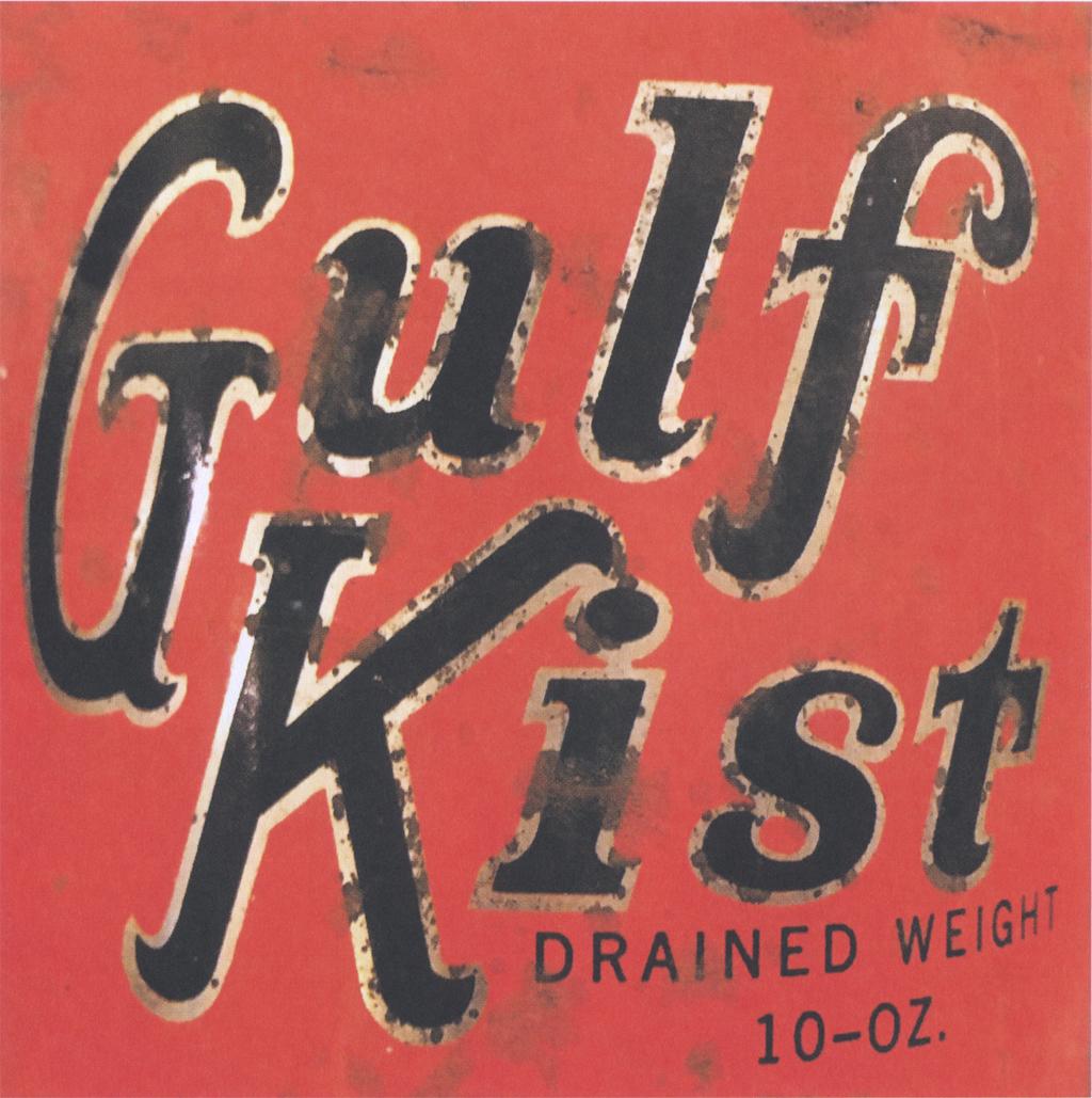 Gulf Kist from Junk Type, p. 73.