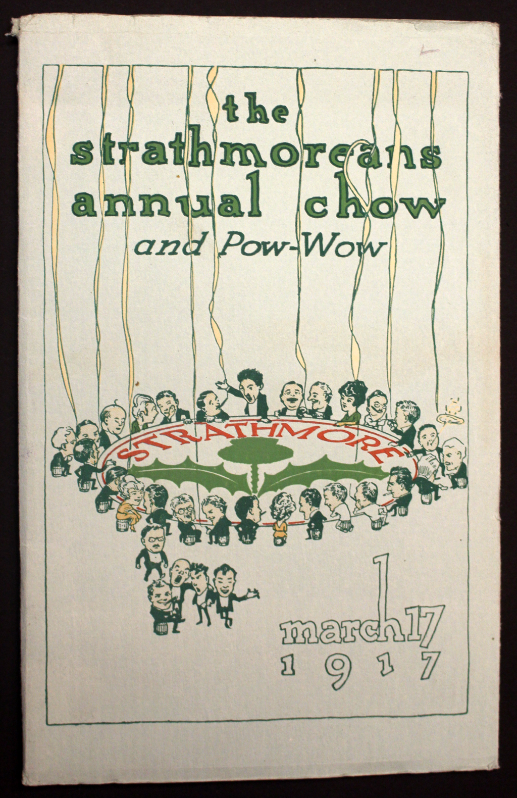 The Stratmorean Annual Chow 1917. Cover designer unknown.