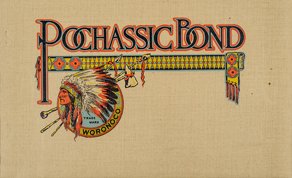 Pochassic Bond (Woronoco Paper Co.). Photograph by Vincent Trinacria.
