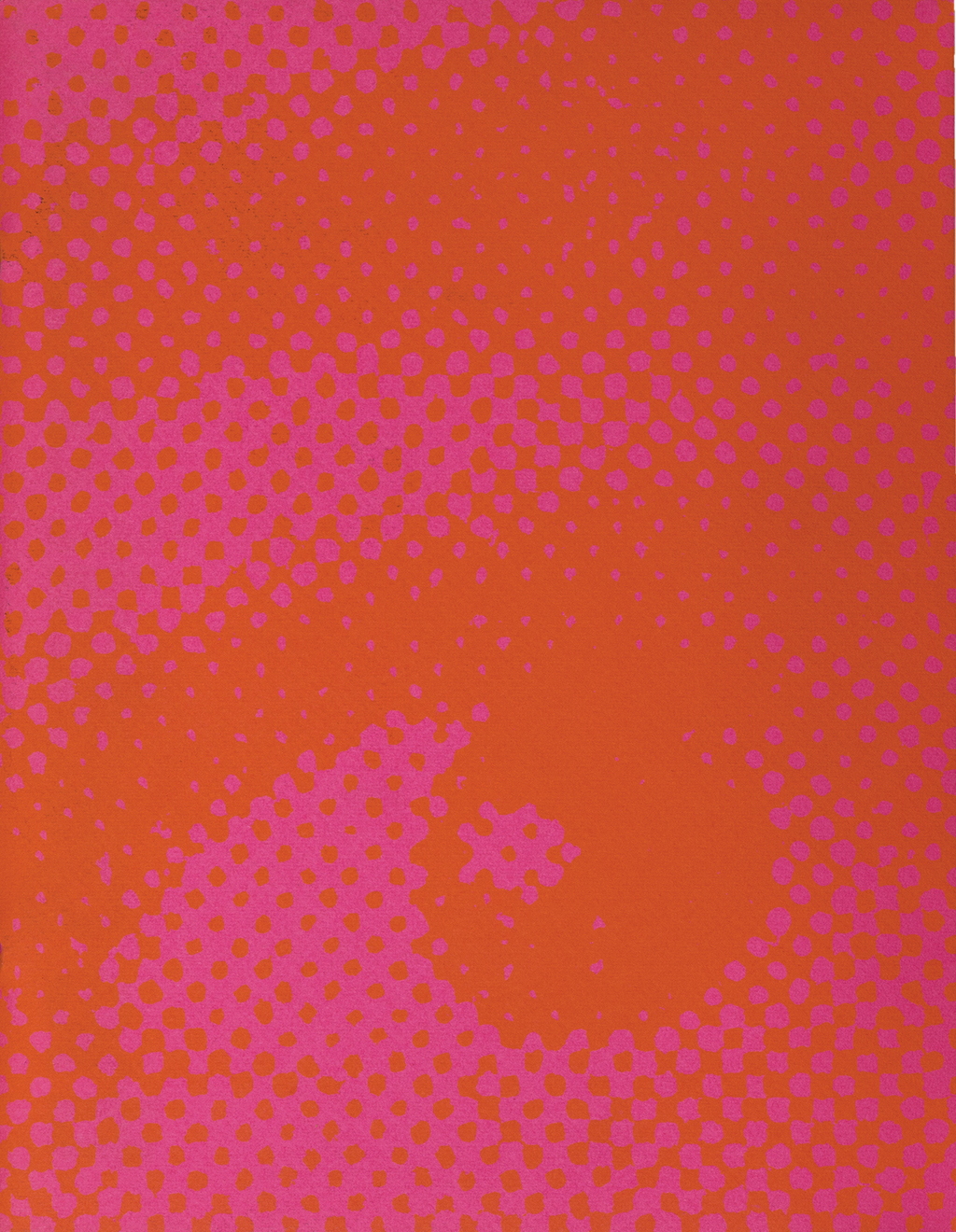 the gestalt assault cover (Strathmore Paper Co., 1970). Design by Ken Kuenster. Photograph by Ariel Smullen.