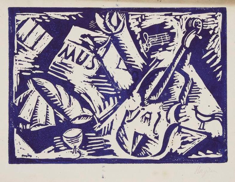 Musique by Henri Hayden (1916).