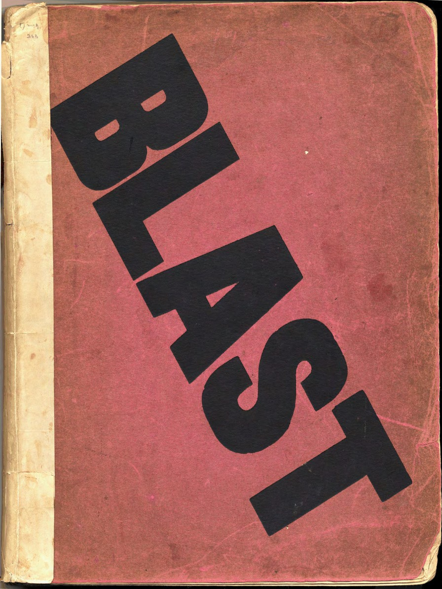 Blast no. 1 edited by Wyndham Lewis (London: John Lane, The Bodley Head, 1914).