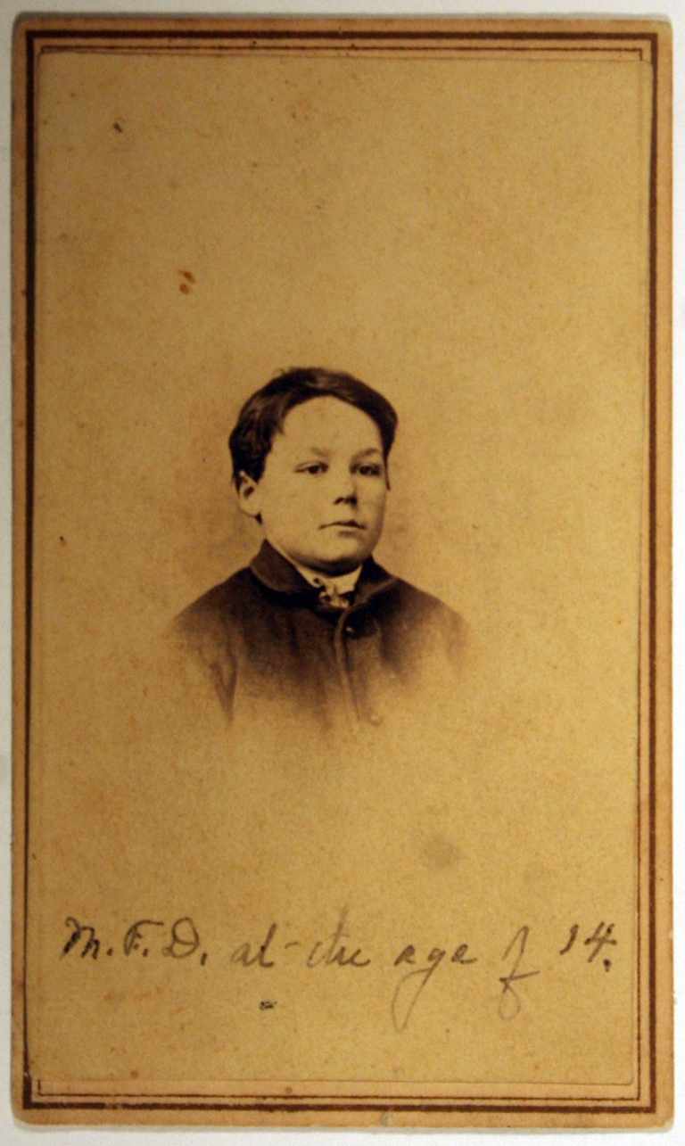 Moses Dwiggins at age 14. Photographer unknown. Courtesy Special Collections, Boston Public Library.