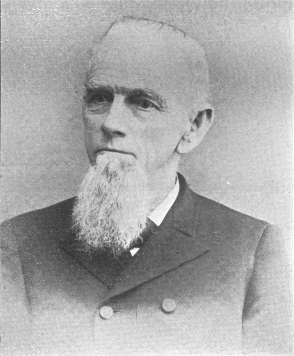 Rev. Benjamin Y. Siegfried. From Proceedings of the Seventy-Sixth Anniversary of the Ohio Baptist Convention (Columbus, Ohio: Press of Myers Bros., 1901), p. 33.