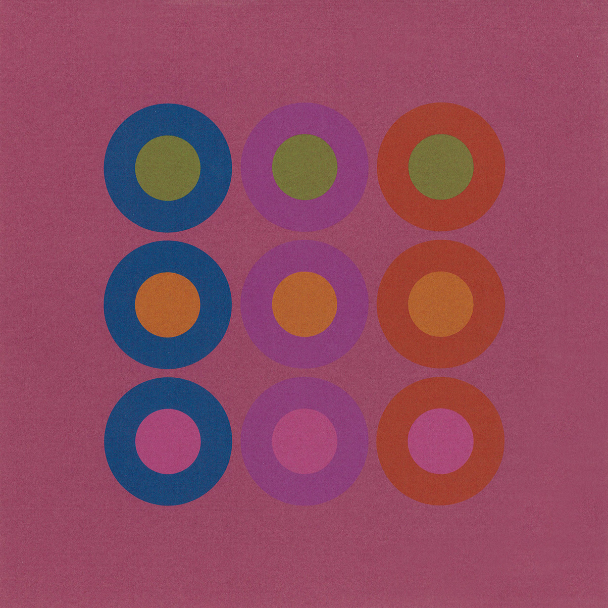 Sheet from Strathmore on Opaques mailer (Strathmore Paper Co., 1970). Design by Richard Danne. Photograph by Ariel Smullen.