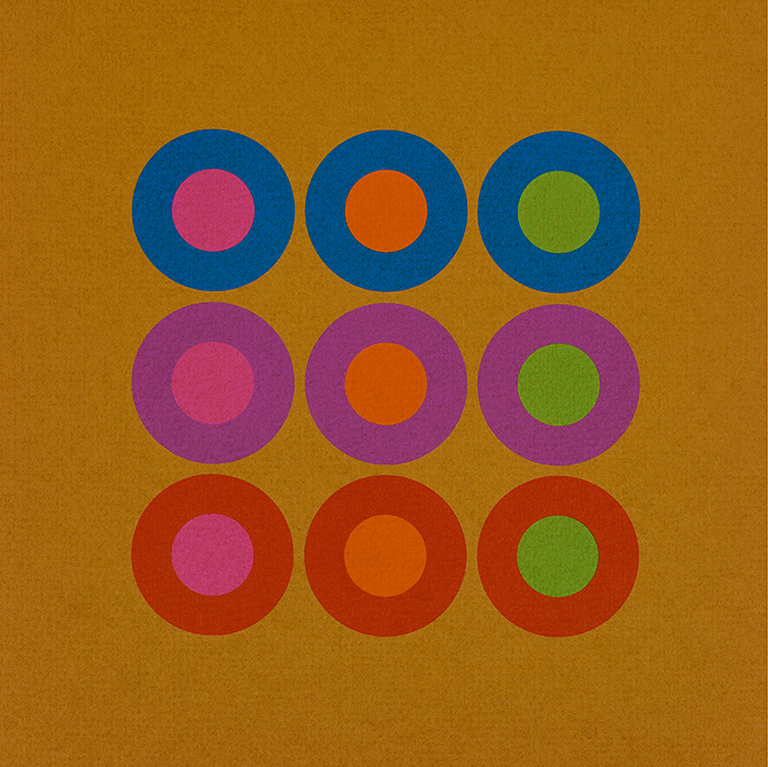 Sheet from Strathmore on Opaques mailer (Strathmore Paper Co., 1970). Design by Richard Danne. Photograph by Vincent Giordano.