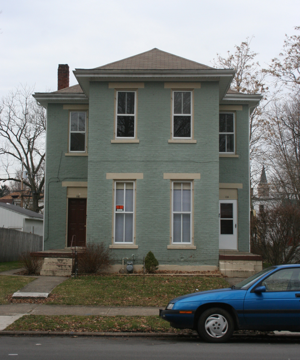 114 South 12th Street, Richmond, Indiana (2006). Photograph by Paul Shaw.