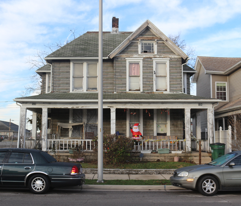 122–124 North 7th Street, Richmond, Indiana (2015). Photograph by Paul Shaw.