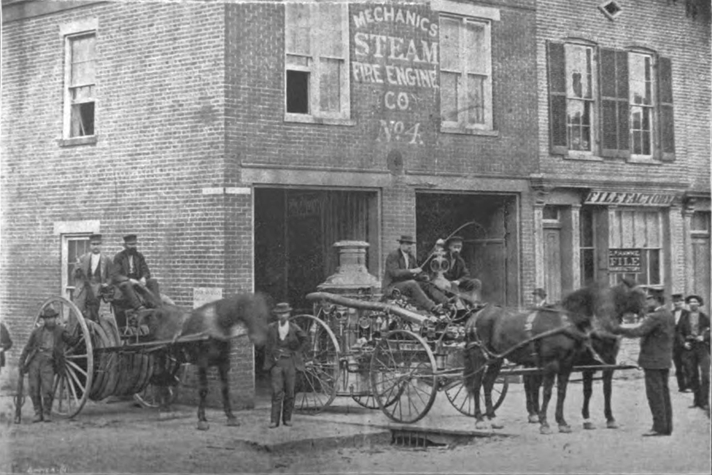 No. 4 Steam Fire Engine (purchased 1871), Richmond Fire Department.