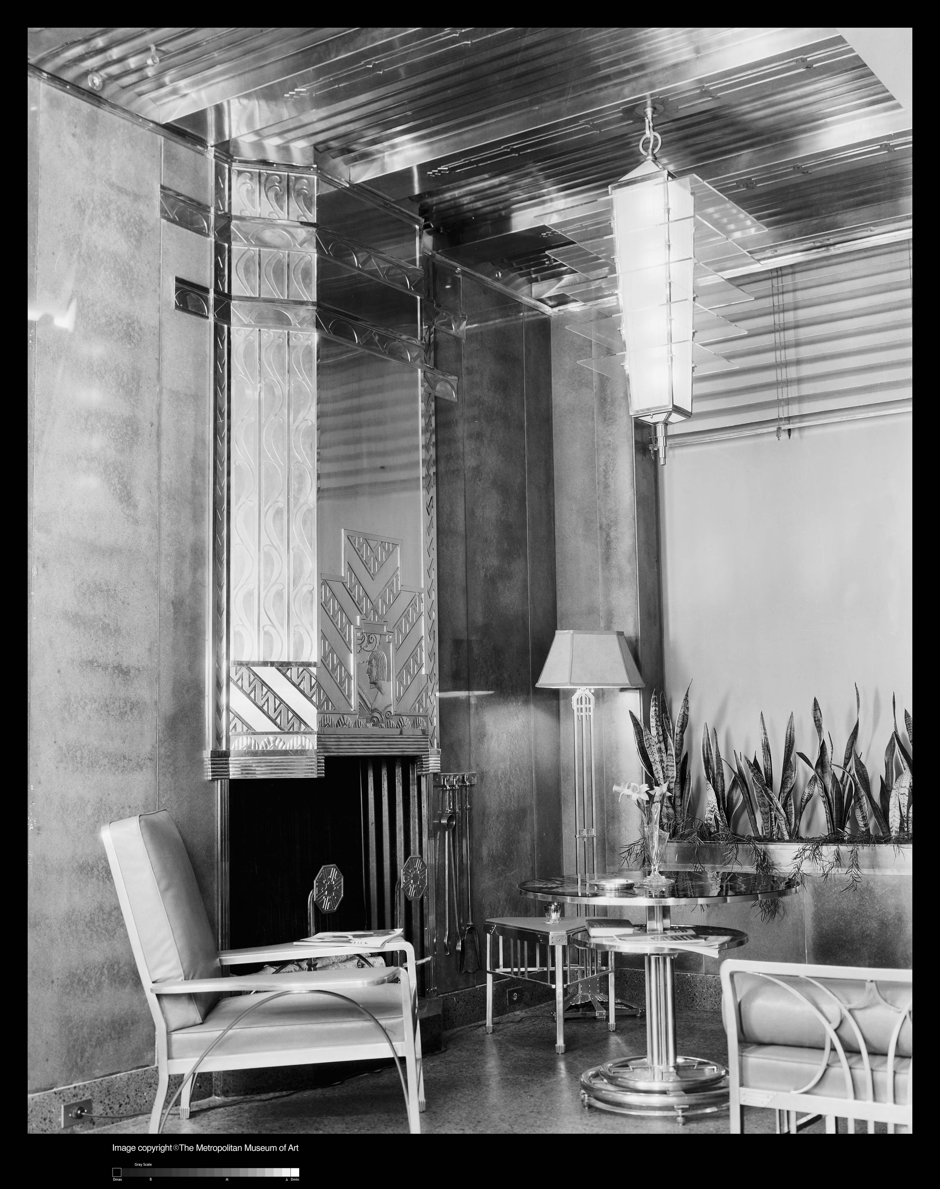 Apartment House Loggia by Raymond Hood from The Architect and the Industrial Arts exhibition (1929). Image source: Digital Collections, The Metropolitan Museum of Art.