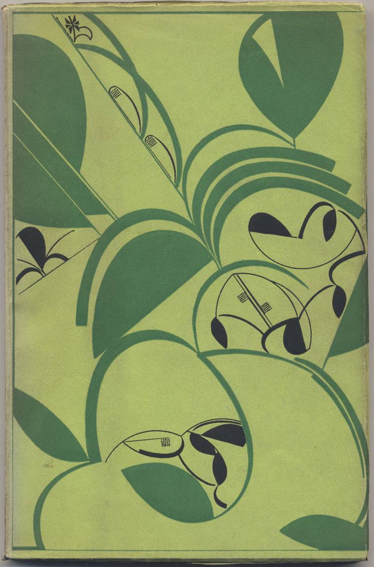 Front cover of The Architect and the Industrial Arts: An Exhibition of Contemporary American Design (New York: The Metropolitan Museum of Art, 1929). Design by W.A. Dwiggins.