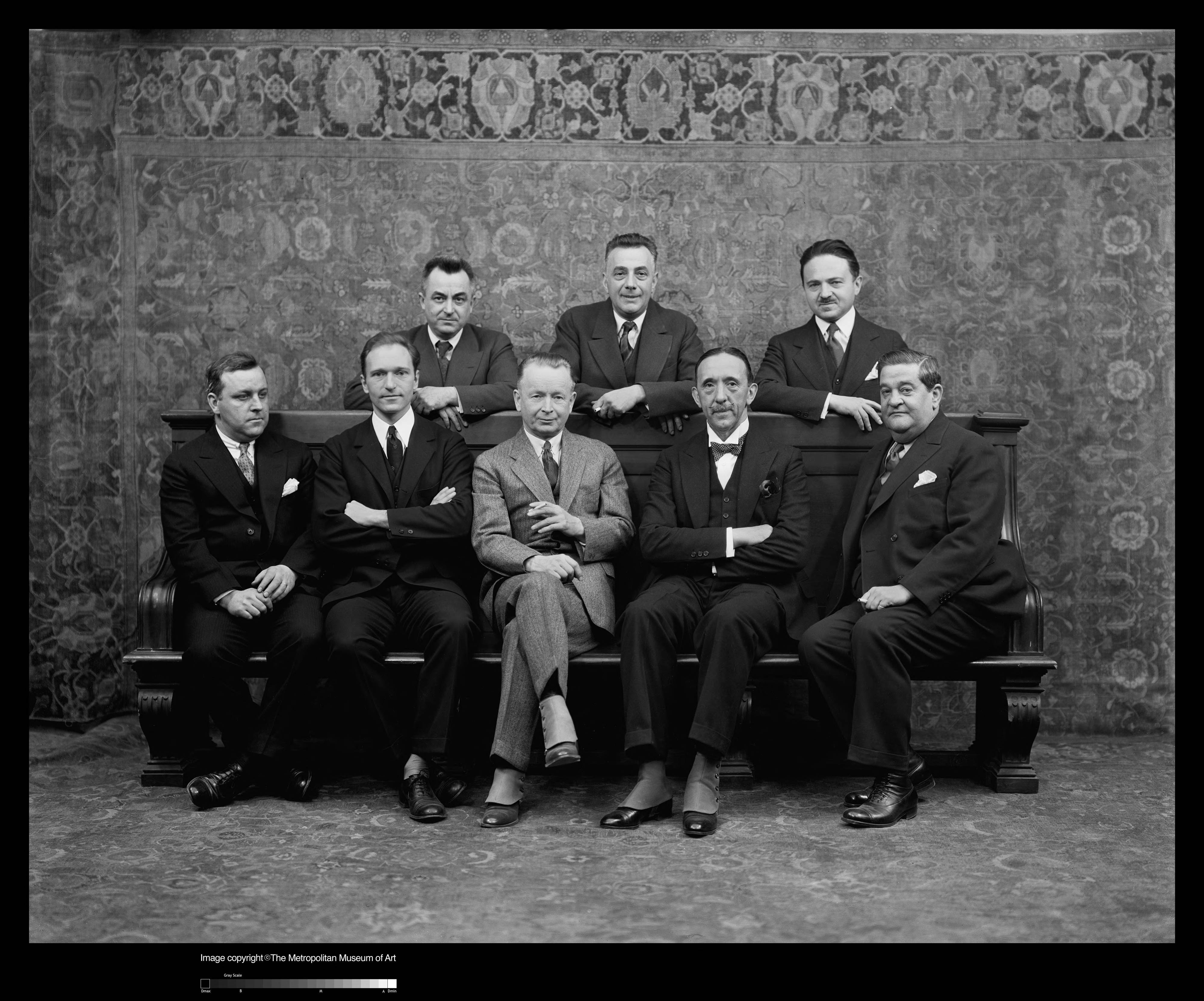 The Cooperating Committee for The Architect and the Industrial Arts exhibition (1929). Image: The Metropolitan Museum of Art.