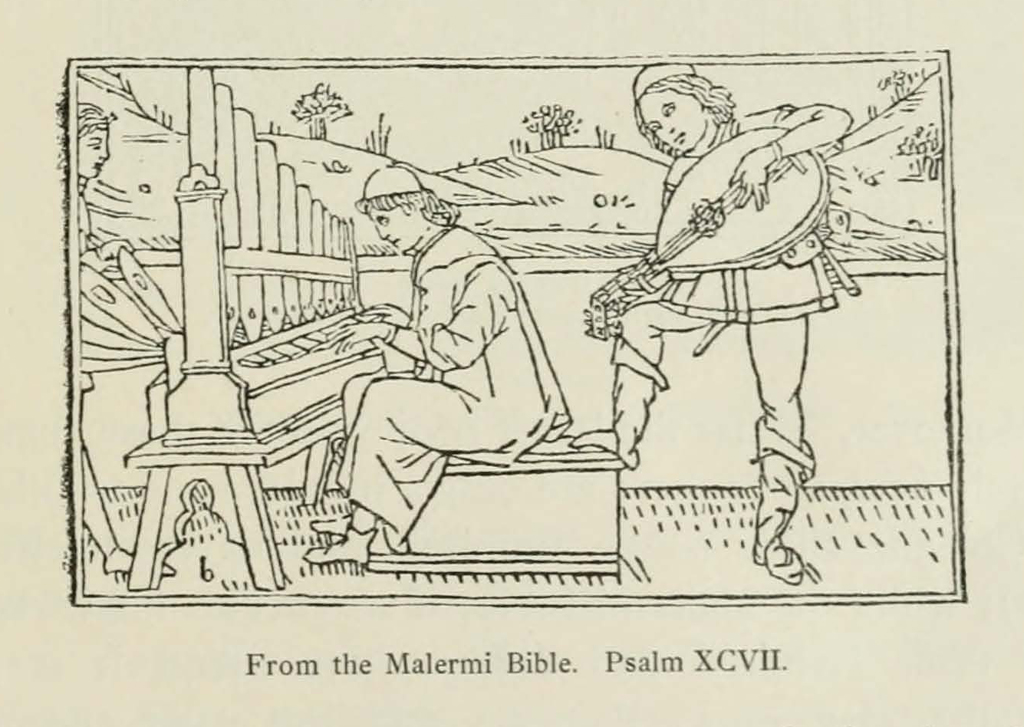 Woodcut from the Malermi Bible reproduced in The Art of Wood-Engraving in Italy in the Fifteenth Century by Friedrich Lippmann (London: Bernard Quaritch, 1888), p. 85.